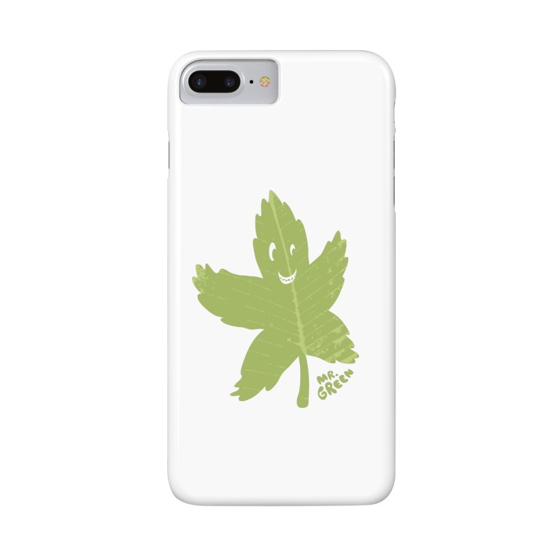 Mr. Green Accessories Phone Case by KrizanDS