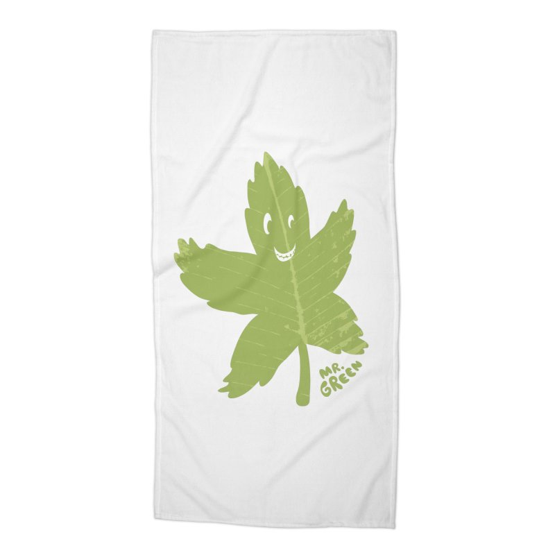 Mr. Green Accessories Beach Towel by KrizanDS