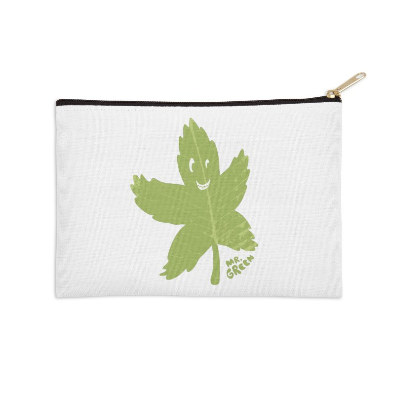 Mr. Green Accessories Zip Pouch by KrizanDS