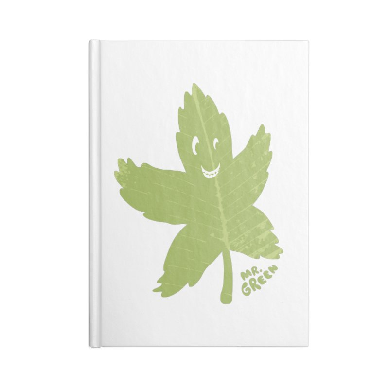 Mr. Green Accessories Notebook by KrizanDS