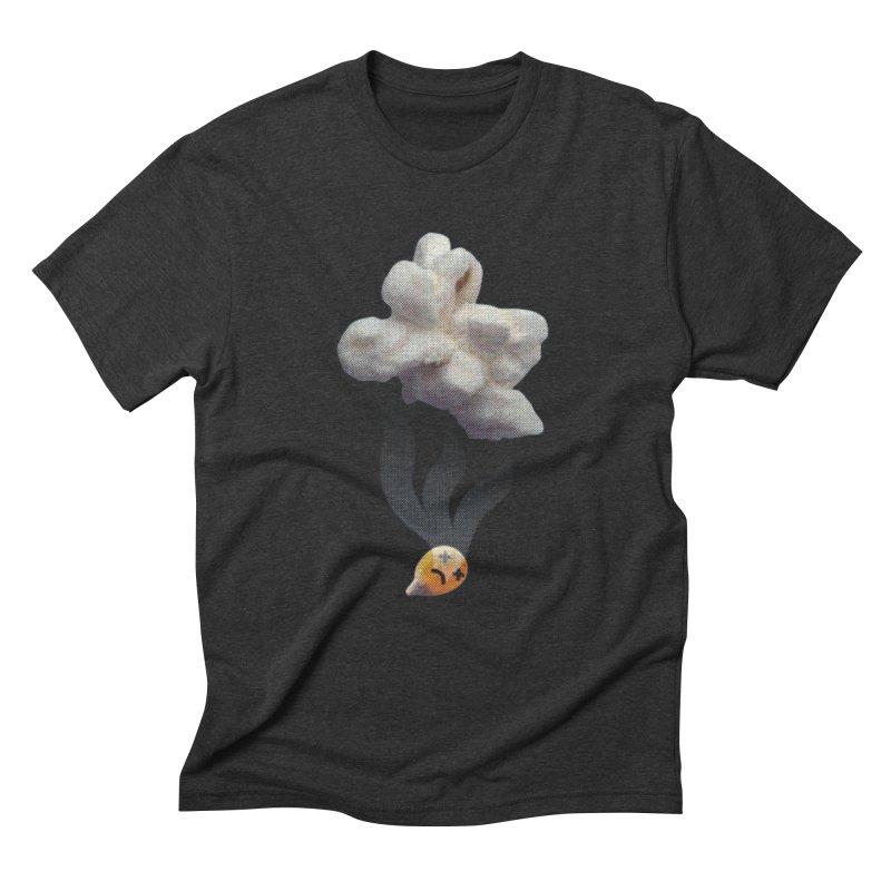 Popped Corn Men's Triblend T-Shirt by KrizanDS