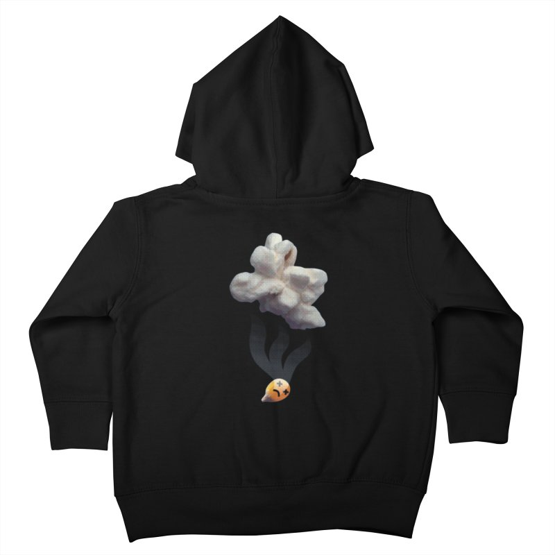 Popped Corn Kids Toddler Zip-Up Hoody by KrizanDS