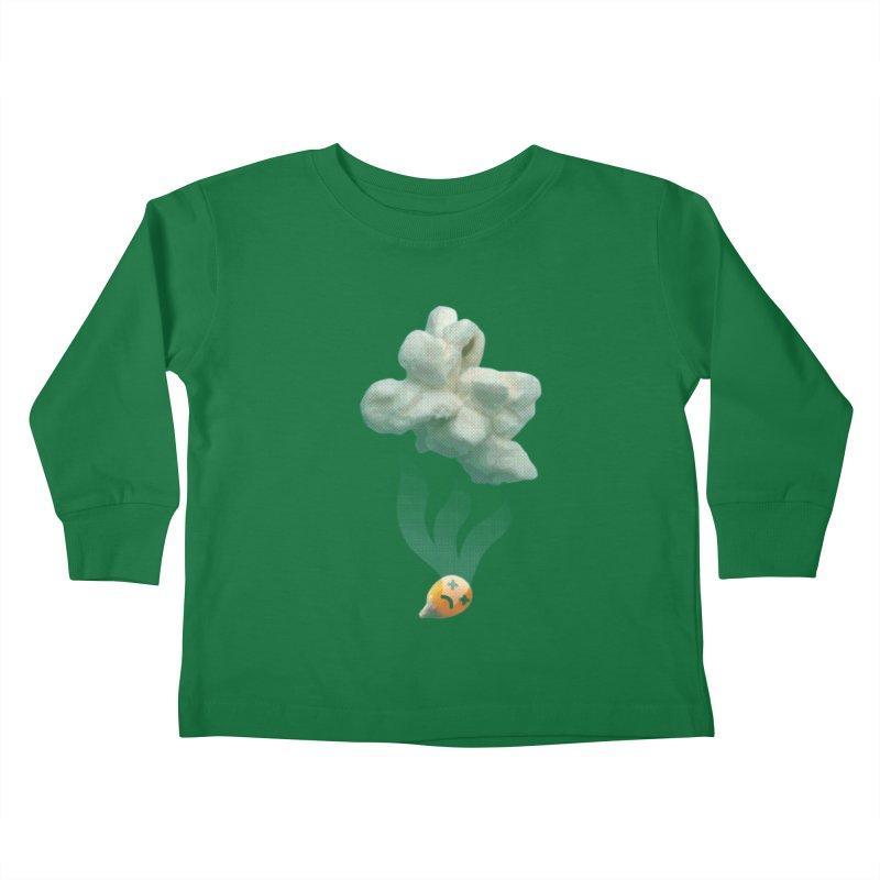 Popped Corn Kids Toddler Longsleeve T-Shirt by KrizanDS