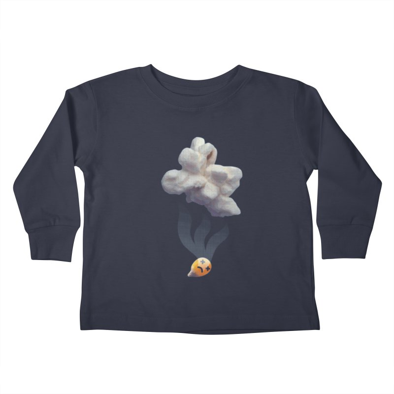 Popped Corn Kids Toddler Longsleeve T-Shirt by KrizanDS