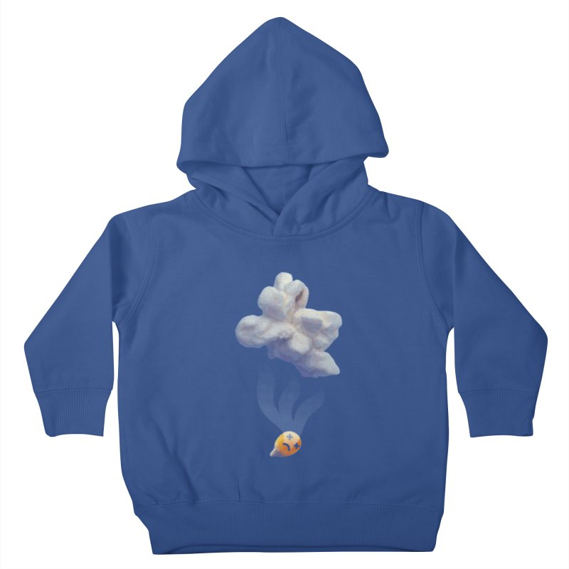 Popped Corn Kids Toddler Pullover Hoody by KrizanDS