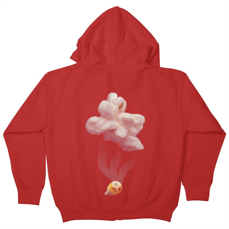 Popped Corn Kids Zip-Up Hoody by KrizanDS