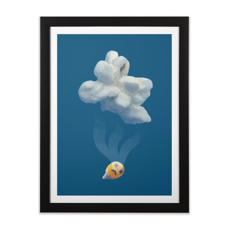 Popped Corn Home Framed Fine Art Print by KrizanDS