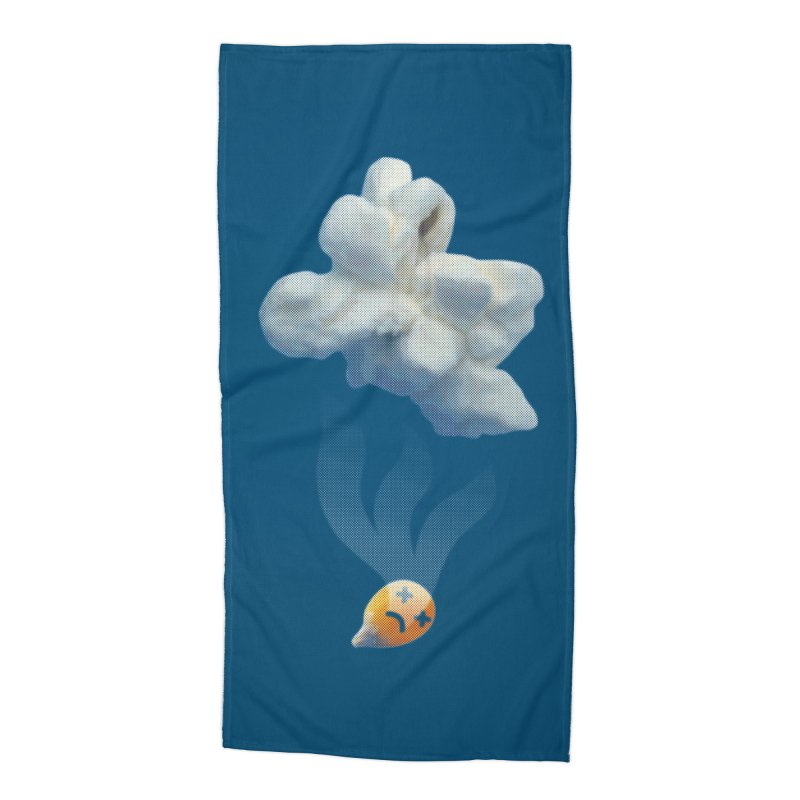 Popped Corn Accessories Beach Towel by KrizanDS