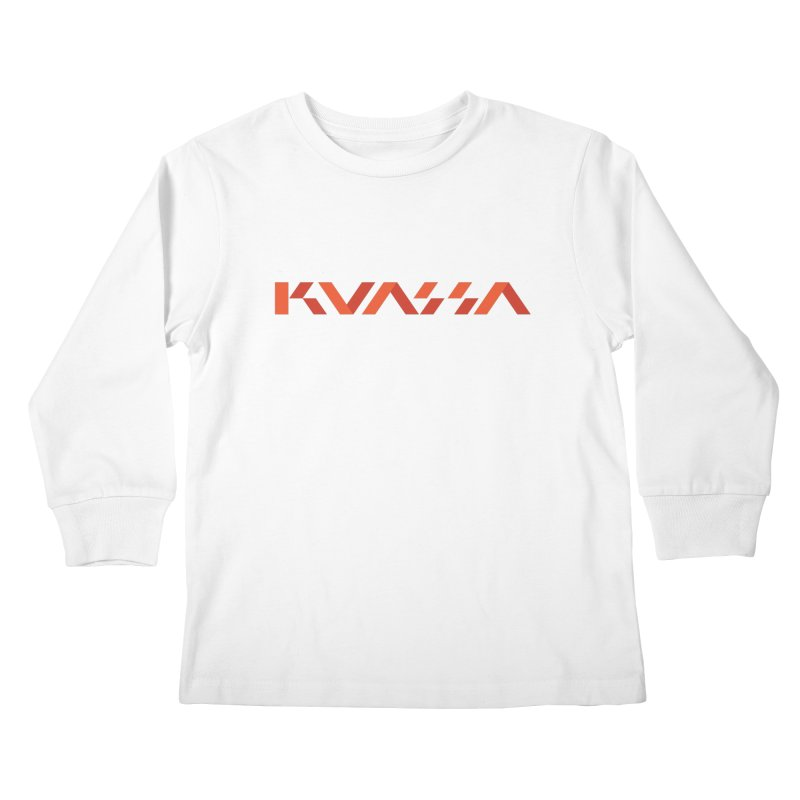 Kuassa Logo Kids Longsleeve T-Shirt by Kuassa Shop