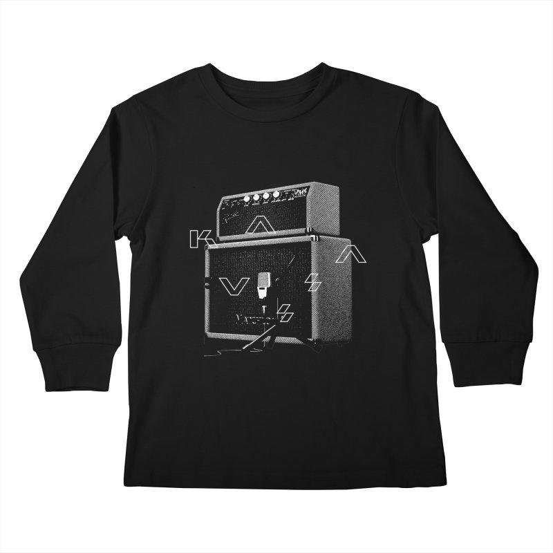 Monochrome Matchlock Kids Longsleeve T-Shirt by Kuassa Shop