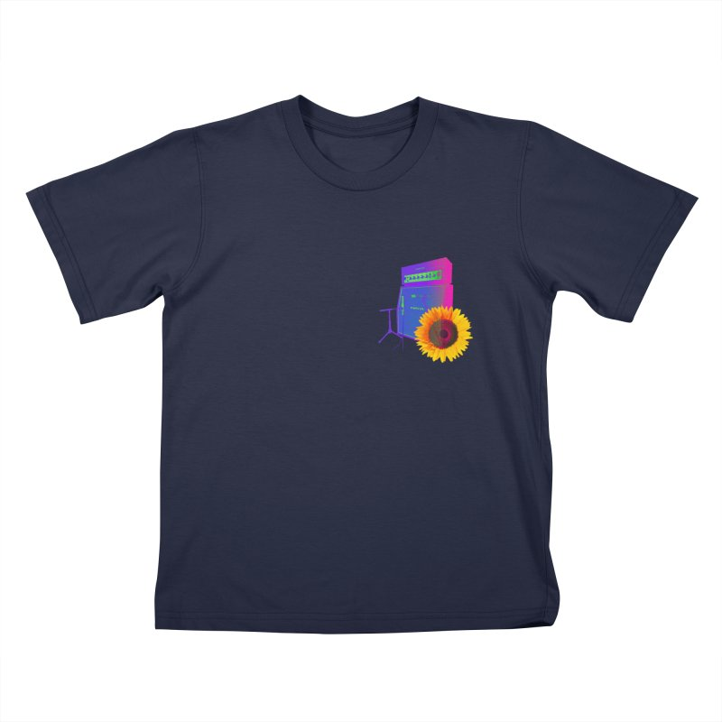 Sunflower Caliburn Kids T-Shirt by Kuassa Shop