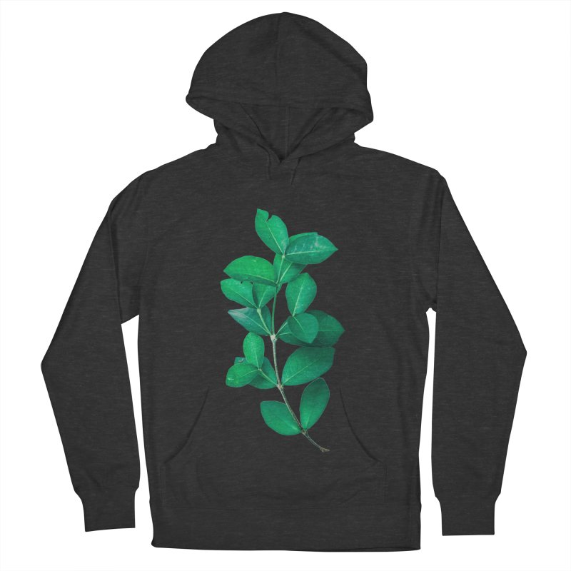 Green Leaves Women's Pullover Hoody by KUI1981