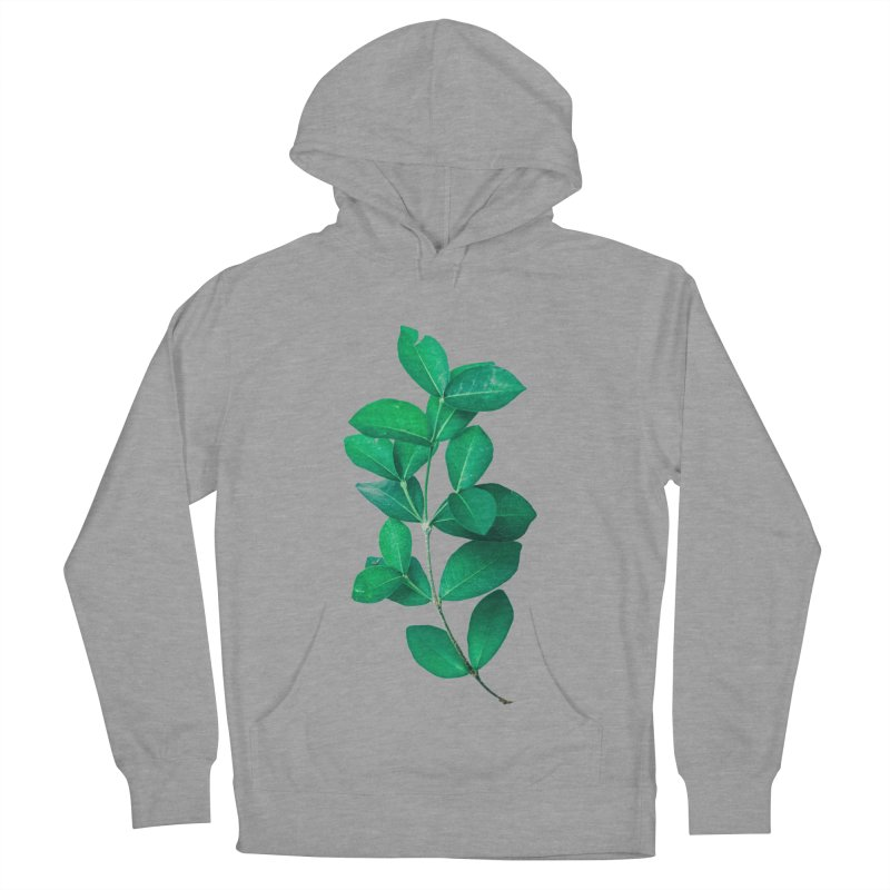 Green Leaves Men's Pullover Hoody by KUI1981