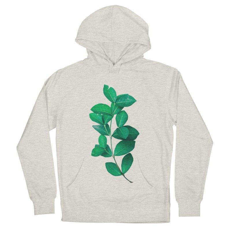 Green Leaves Men's Pullover Hoody by KUI1981
