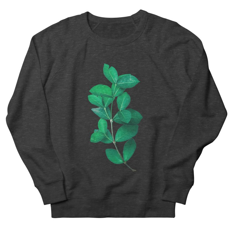 Green Leaves Women's Sweatshirt by KUI1981