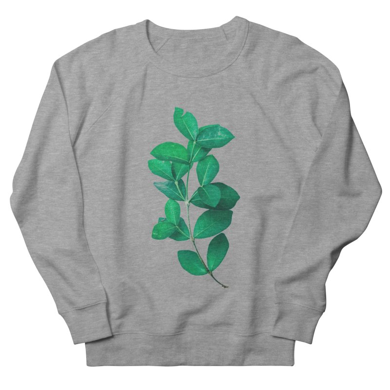 Green Leaves Women's Sweatshirt by KUI1981