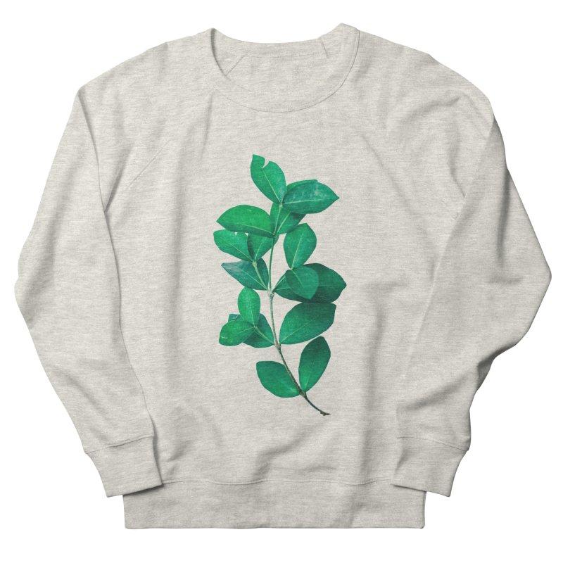 Green Leaves Men's Sweatshirt by KUI1981