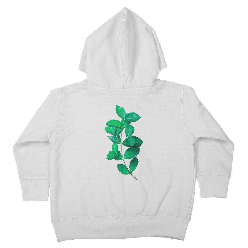 Green Leaves Kids Toddler Zip-Up Hoody by KUI1981
