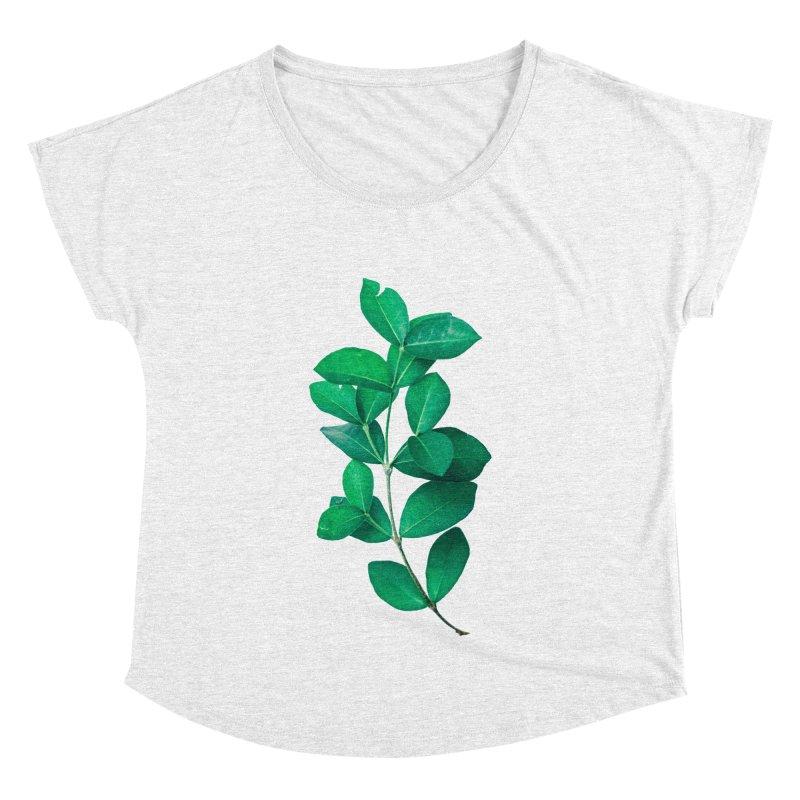 Green Leaves Women's Dolman by KUI1981