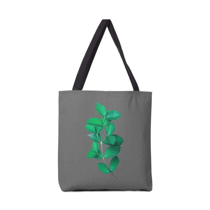 Green Leaves Accessories Bag by KUI1981
