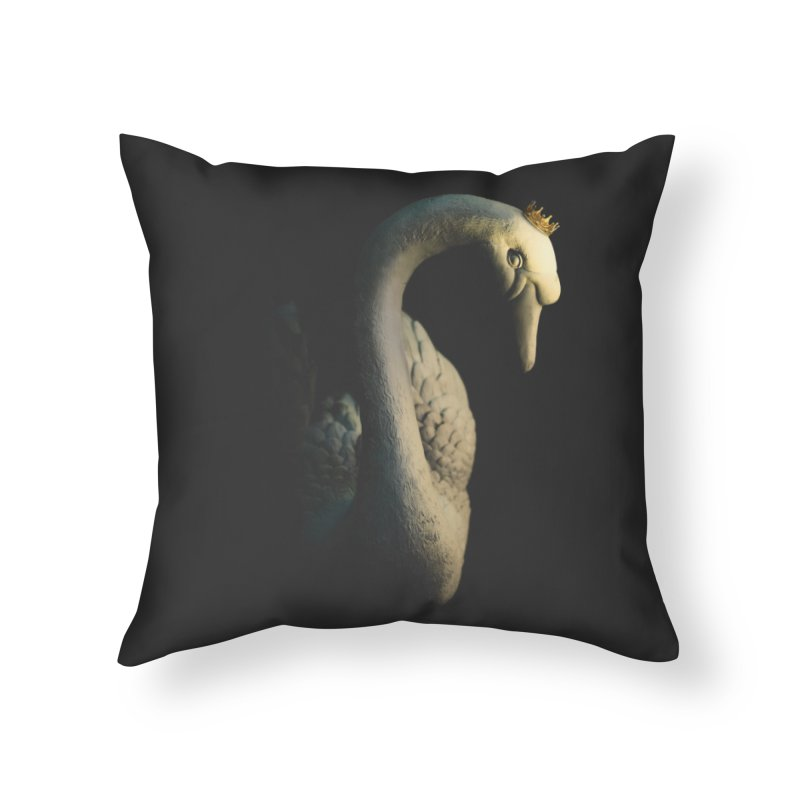 King Goose !!! Home Throw Pillow by KUI1981