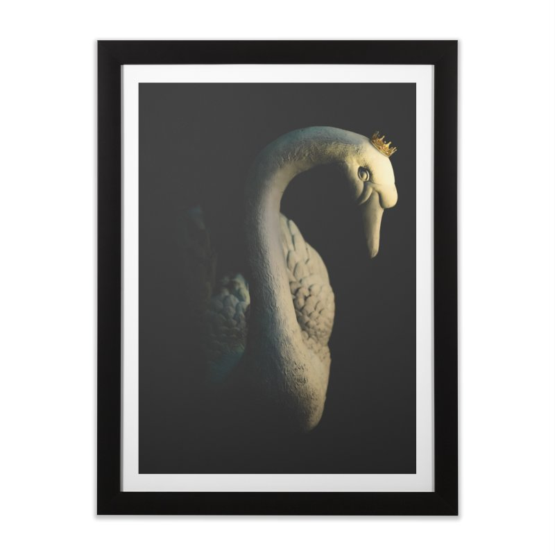 King Goose !!! Home Framed Fine Art Print by KUI1981