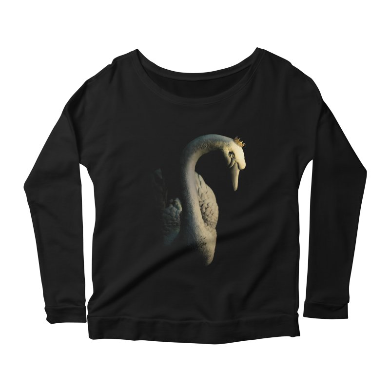 King Goose !!! Women's Longsleeve Scoopneck  by KUI1981