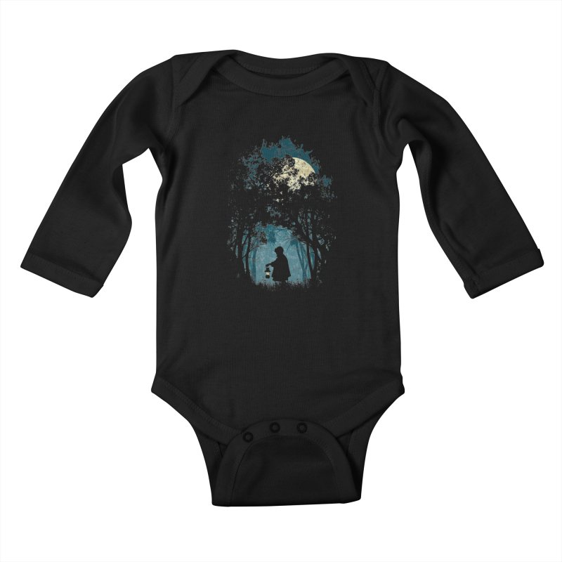 Hiking Kids Baby Longsleeve Bodysuit by KUI1981
