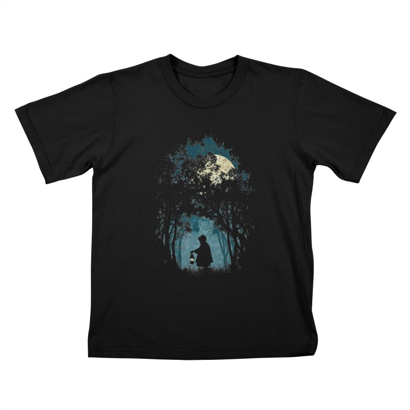 Hiking Kids T-shirt by KUI1981