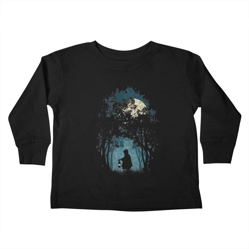 Hiking Kids Toddler Longsleeve T-Shirt by KUI1981