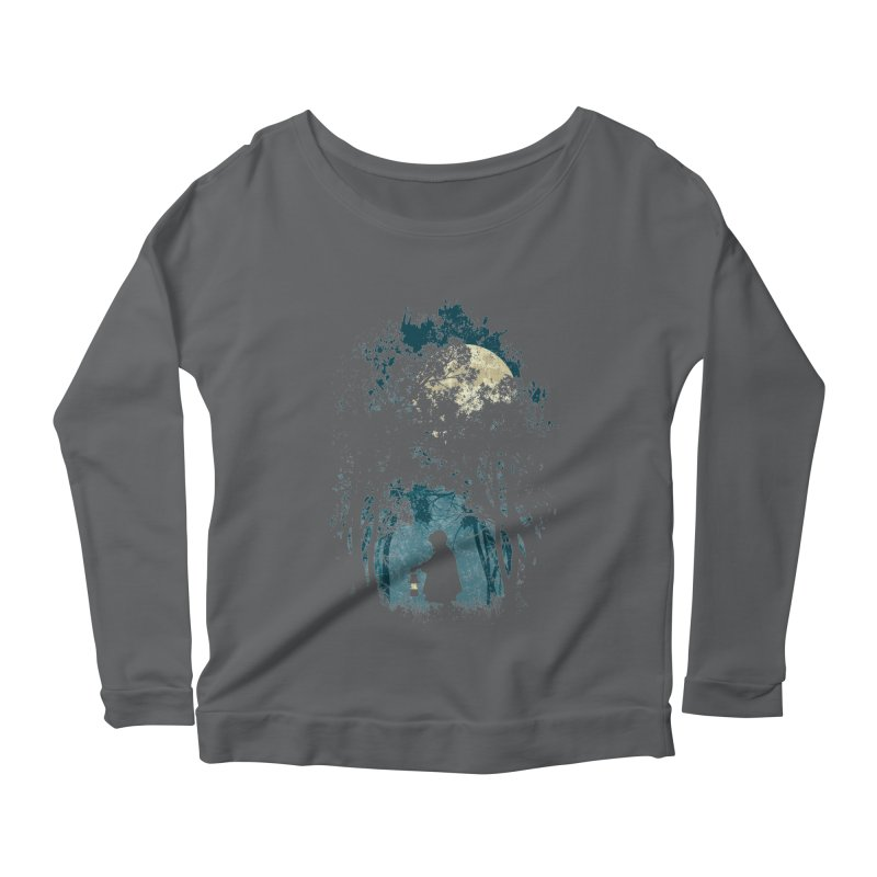 Hiking Women's Longsleeve Scoopneck  by KUI1981