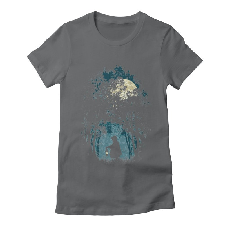 Hiking Women's Fitted T-Shirt by KUI1981