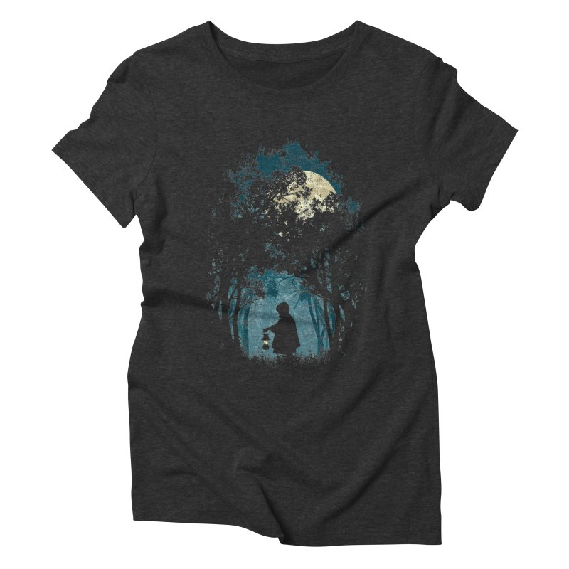 Hiking Women's Triblend T-shirt by KUI1981
