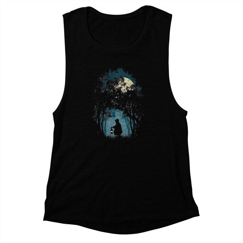 Hiking Women's Muscle Tank by KUI1981