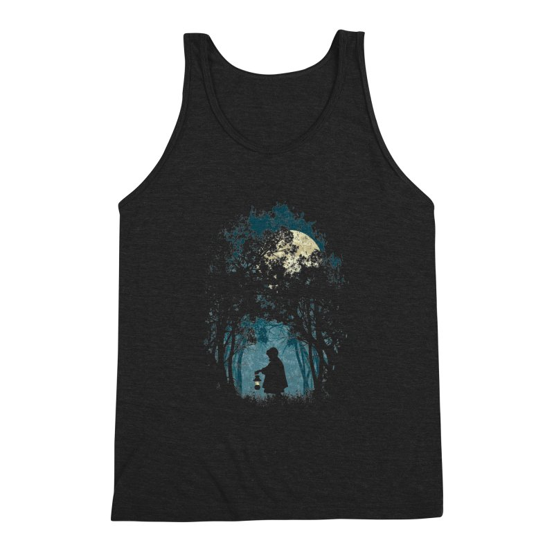 Hiking Men's Triblend Tank by KUI1981