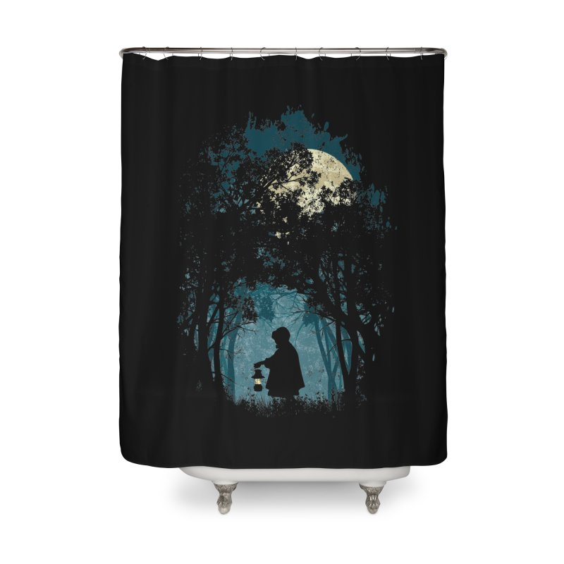 Hiking Home Shower Curtain by KUI1981