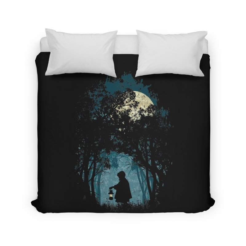 Hiking Home Duvet by KUI1981