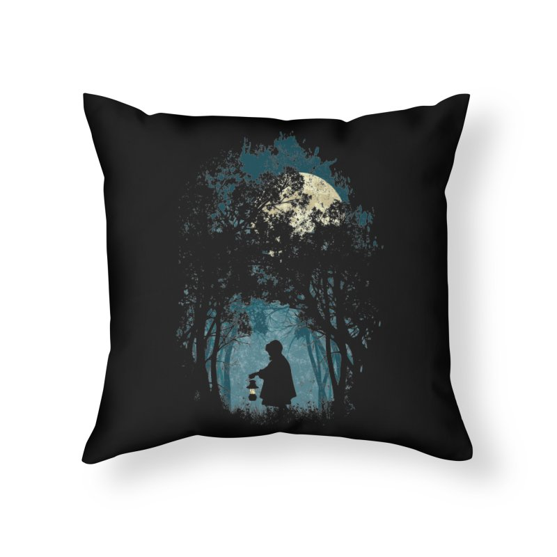 Hiking Home Throw Pillow by KUI1981