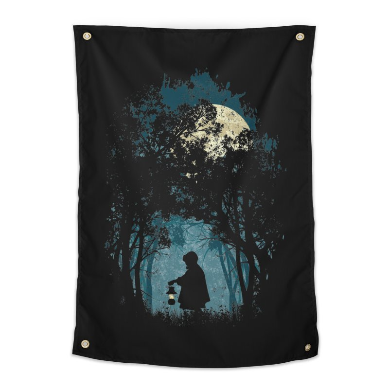 Hiking Home Tapestry by KUI1981
