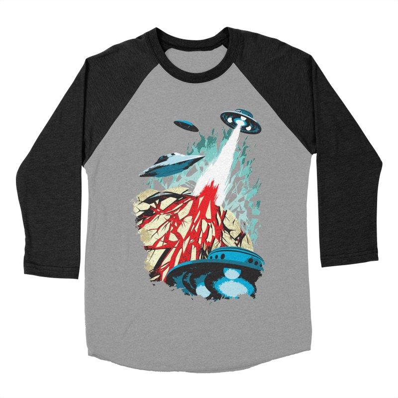 Alien Gangster Women's Baseball Triblend T-Shirt by KUI1981
