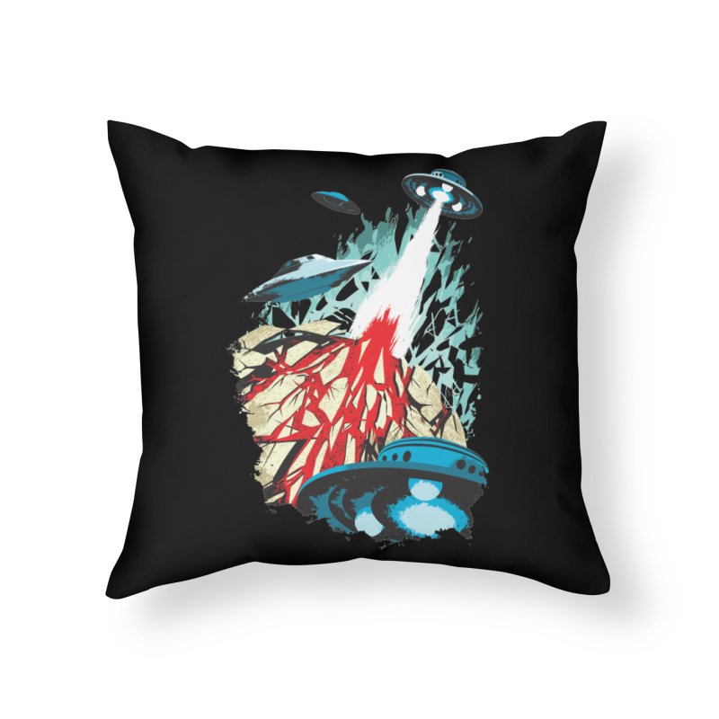 Alien Gangster Home Throw Pillow by KUI1981