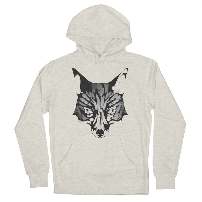 Fox Men's Pullover Hoody by KUI1981
