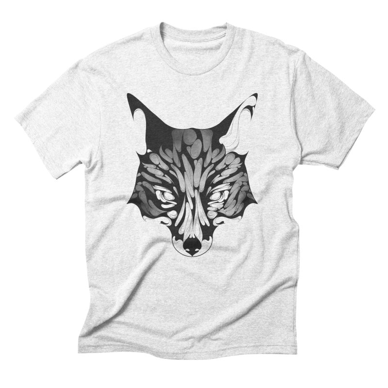 Fox Men's Triblend T-shirt by KUI1981