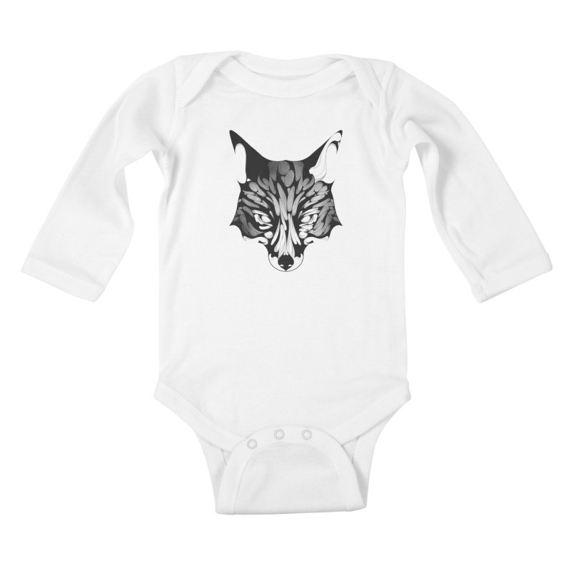 Fox Kids Baby Longsleeve Bodysuit by KUI1981