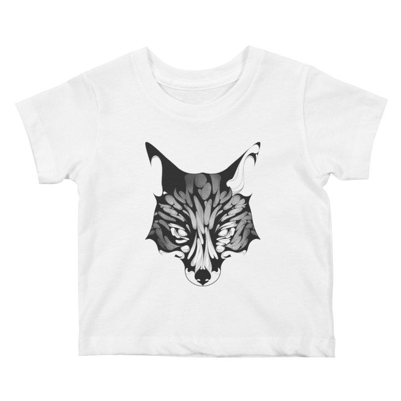 Fox Kids Baby T-Shirt by KUI1981