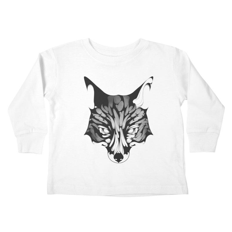 Fox Kids Toddler Longsleeve T-Shirt by KUI1981