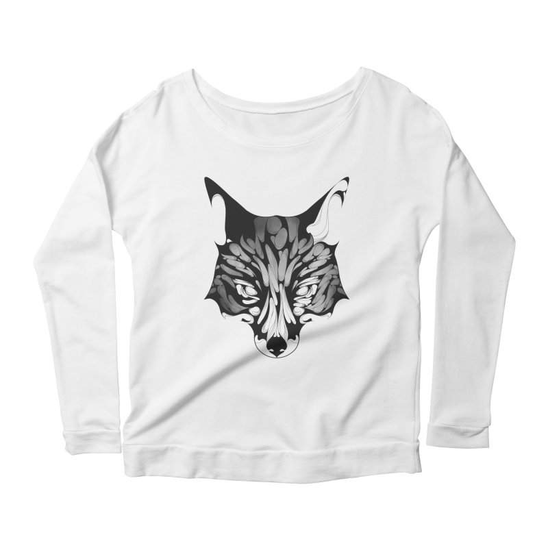 Fox Women's Longsleeve Scoopneck  by KUI1981