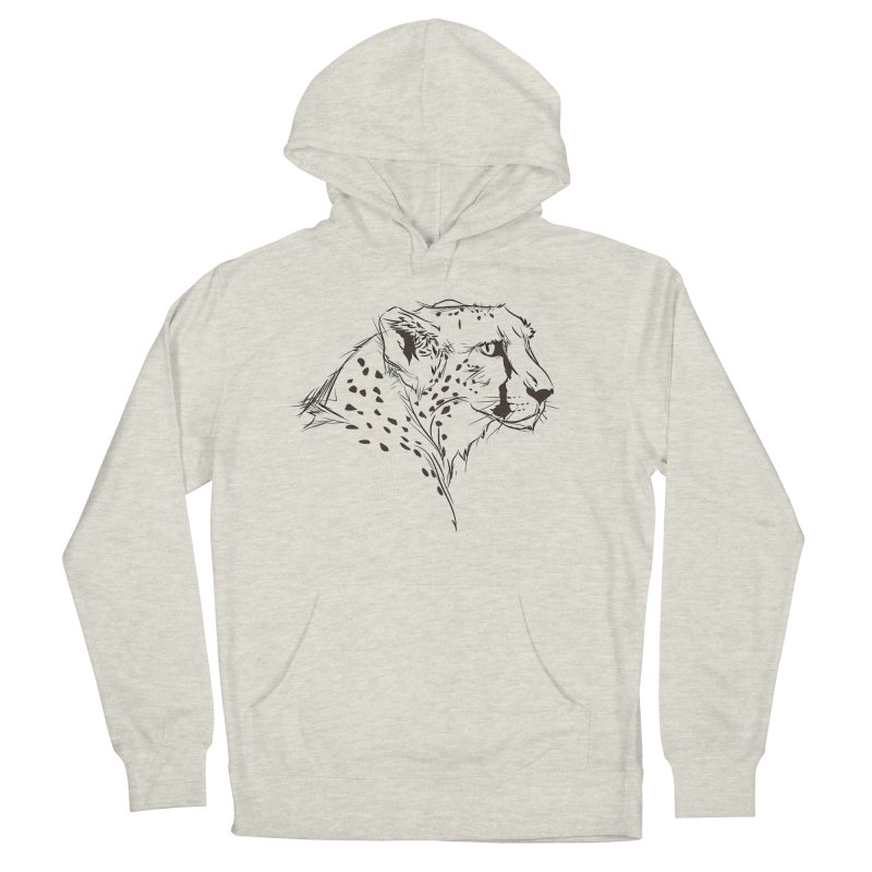 The Cheetah Men's Pullover Hoody by KUI1981