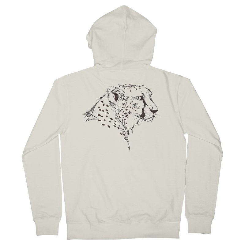 The Cheetah Women's Zip-Up Hoody by KUI1981