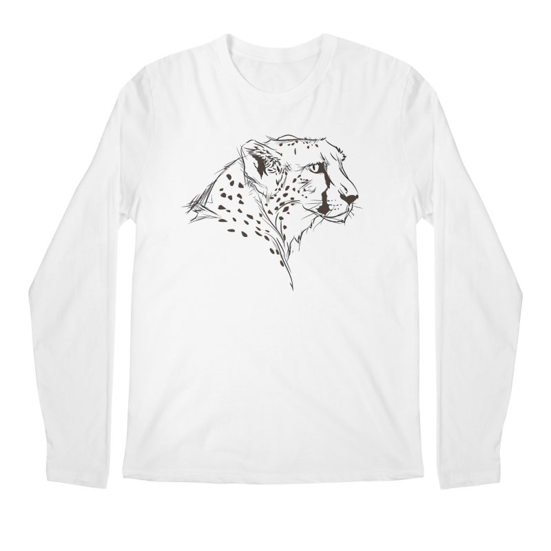 The Cheetah Men's Longsleeve T-Shirt by KUI1981